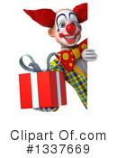Funky Clown Clipart #1337669 by Julos