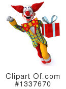 Funky Clown Clipart #1337670 by Julos