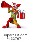 Funky Clown Clipart #1337671 by Julos