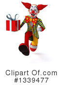 Funky Clown Clipart #1339477 by Julos