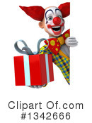 Funky Clown Clipart #1342666 by Julos