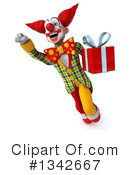 Funky Clown Clipart #1342667 by Julos