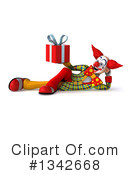 Funky Clown Clipart #1342668 by Julos