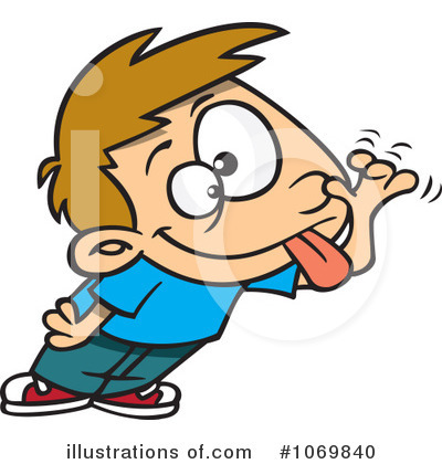Funny Face Clipart #1069840 - Illustration by toonaday
