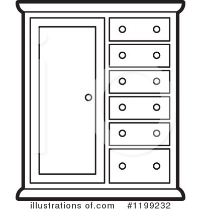 Royalty Free RF Furniture Clipart Illustration 1199232 By Lal Perera