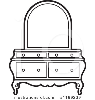 Furniture Clipart 1199239 Illustration By Lal Perera