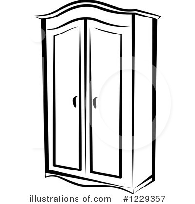 Royalty Free RF Furniture Clipart Illustration By Vector Tradition SM