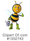 Gardener Bee Clipart #1302743 by Julos