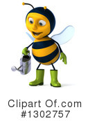 Gardener Bee Clipart #1302757 by Julos