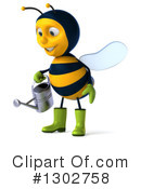 Gardener Bee Clipart #1302758 by Julos
