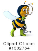 Gardener Bee Clipart #1302764 by Julos