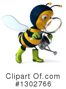 Gardener Bee Clipart #1302766 by Julos