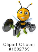 Gardener Bee Clipart #1302769 by Julos