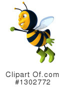 Gardener Bee Clipart #1302772 by Julos