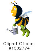 Gardener Bee Clipart #1302774 by Julos