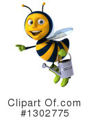 Gardener Bee Clipart #1302775 by Julos