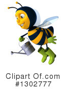 Gardener Bee Clipart #1302777 by Julos
