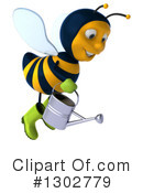 Gardener Bee Clipart #1302779 by Julos