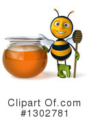 Gardener Bee Clipart #1302781 by Julos