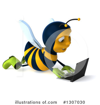 Gardener Bee Clipart #1307030 by Julos