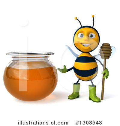 Gardener Bee Clipart #1308543 by Julos