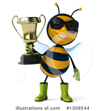 Gardener Bee Clipart #1308544 by Julos