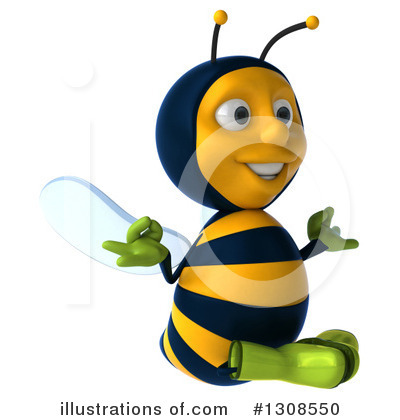 Gardener Bee Clipart #1308550 by Julos