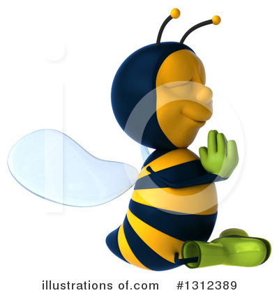 Gardener Bee Clipart #1312389 by Julos