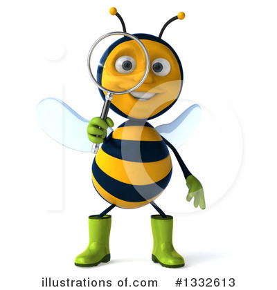 Gardener Bee Clipart #1332613 by Julos