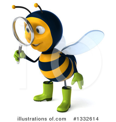 Gardener Bee Clipart #1332614 by Julos