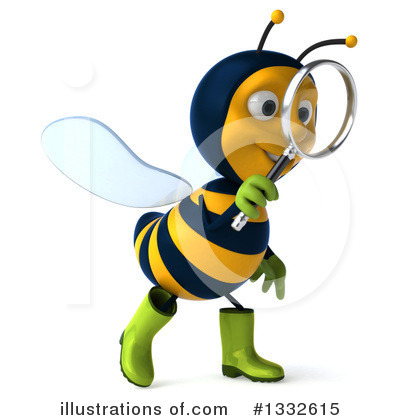 Gardener Bee Clipart #1332615 by Julos