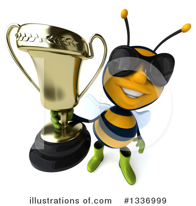 Gardener Bee Clipart #1336999 by Julos
