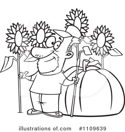 Gardening Clipart #1109639 by toonaday