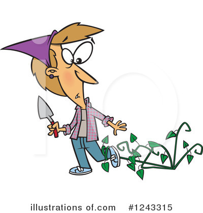 Gardening Clipart #1243315 by toonaday