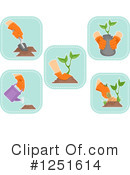 Gardening Clipart #1251614 by BNP Design Studio