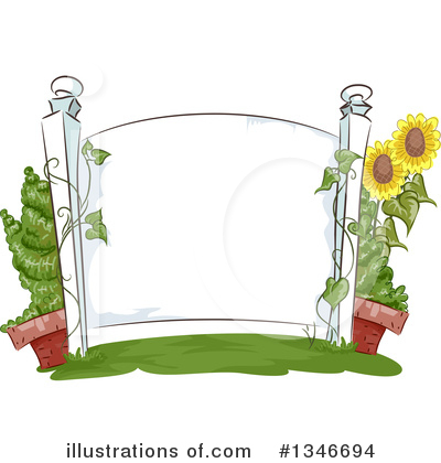 Sunflower Clipart #1346694 by BNP Design Studio