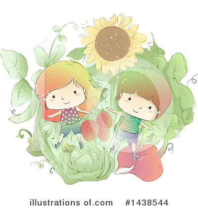 Sunflower Clipart #1438544 by BNP Design Studio