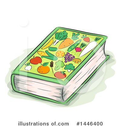 Cook Book Clipart #1446400 by BNP Design Studio