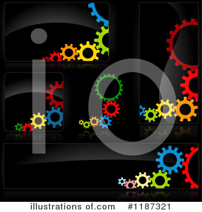 Royalty-Free (RF) Gears Clipart Illustration by dero - Stock Sample #1187321