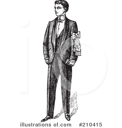 Gentleman Clipart #210415 - Illustration by BestVector