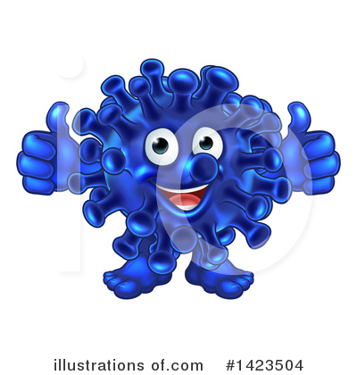 Germs Clipart #1423504 by AtStockIllustration