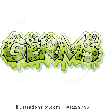 Royalty-Free (RF) Germs Clipart Illustration by Cory Thoman - Stock Sample #1229795