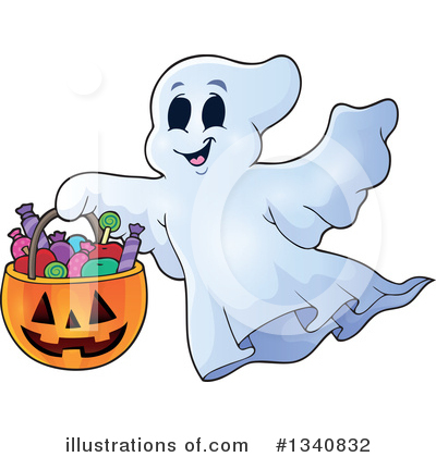 Trick Or Treat Clipart #1340832 by visekart