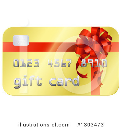 Gift Card Clipart #1303473 by AtStockIllustration