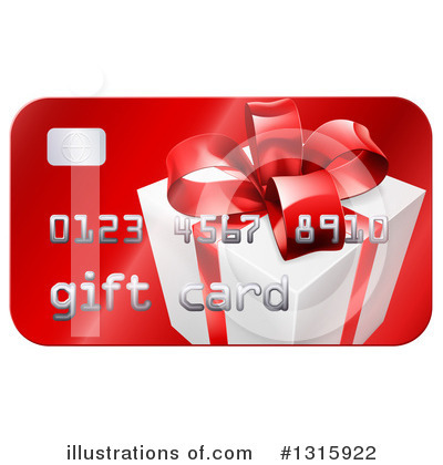 Gift Card Clipart #1315922 by AtStockIllustration