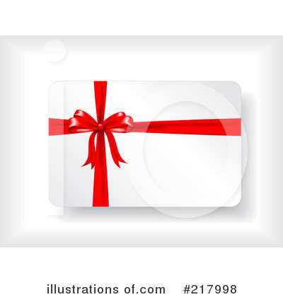 Royalty-Free (RF) Gift Card Clipart Illustration by KJ Pargeter - Stock Sample #217998