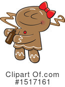 Gingerbread Cookie Clipart #1517161 by toonaday