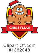 Gingerbread Man Clipart #1362048 by Cory Thoman