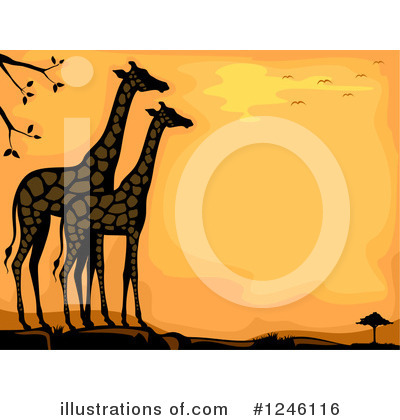 Giraffe Clipart #1246116 by BNP Design Studio