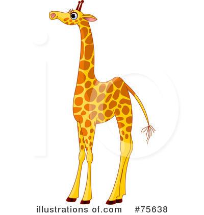 giraffe clipart 75638 illustration by pushkin rh illustrationsof com free baby giraffe clipart Baby Giraffe Clip Art